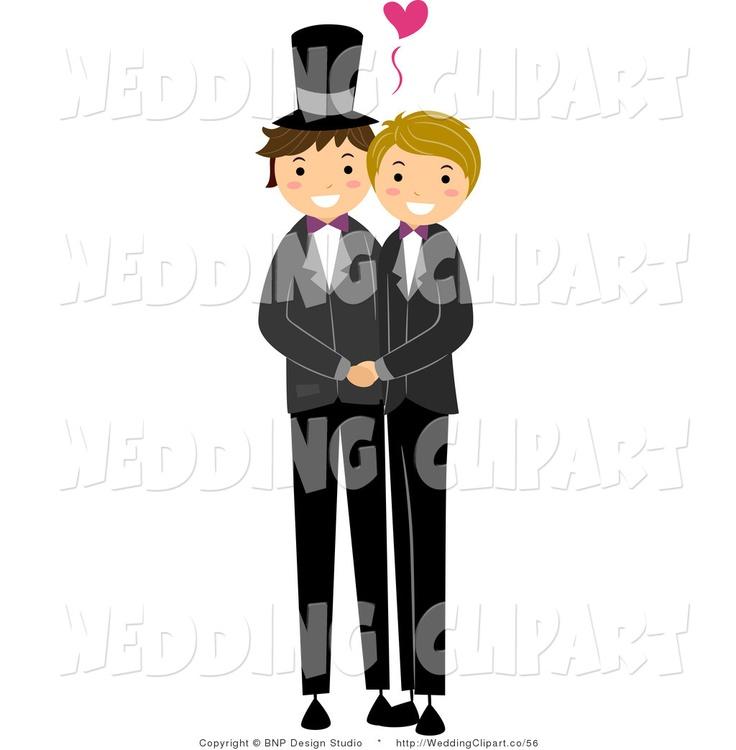 Gay Wedding Clipart