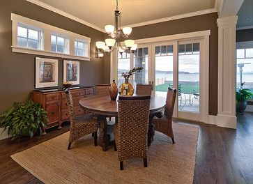 Brown Dining Room Design Ideas, Pictures, Remodel, and Decor - page 3