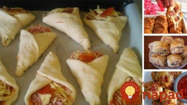 9 najlepších Pizza jednohubiek, ktoré viete rýchlo pripraviť!