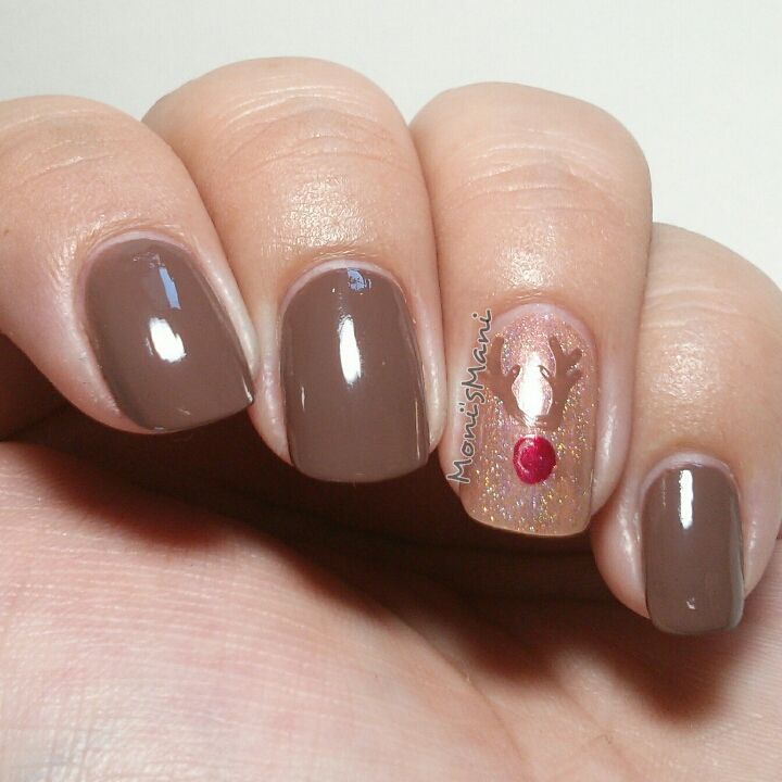China Glaze Street Chic rudolph Moyou Nails plate 120