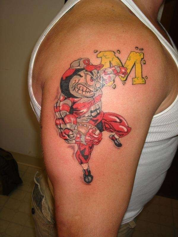 21 best ohio state buckeyes tattoos images on pinterest tattoo ideas awesome tattoos and. Black Bedroom Furniture Sets. Home Design Ideas