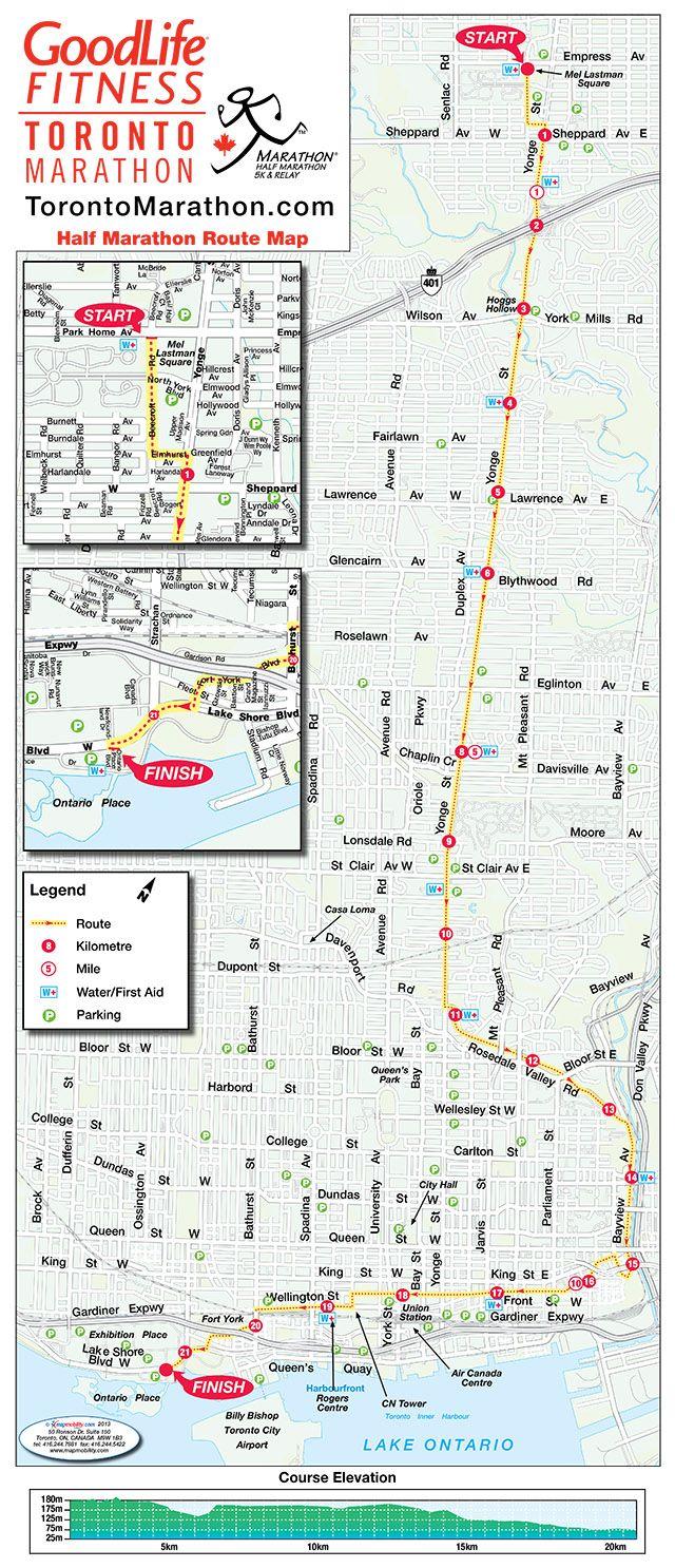 Best  London Marathon Map Ideas On Pinterest - Chicago marathon map
