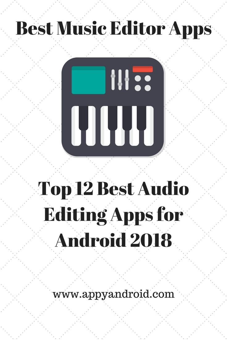 Top 12 Best Audio Editing Apps for Android 2018, list of best audio editor apps for android smartphone. #androidapps #android