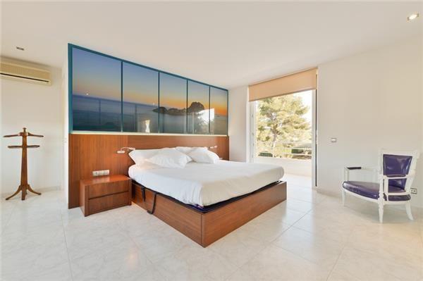 Bedroom for comfy nights in Sant Antoni de Portmany, Ibiza, Spain
