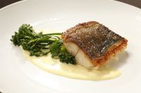 Saffron Cream Sauce works magic on black cod