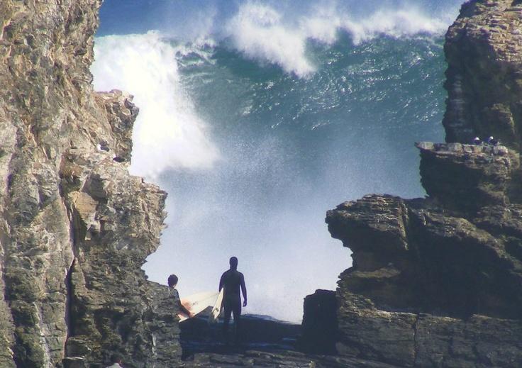 this picture give me chills huge wave on Pichilemu- Roberto Antezana