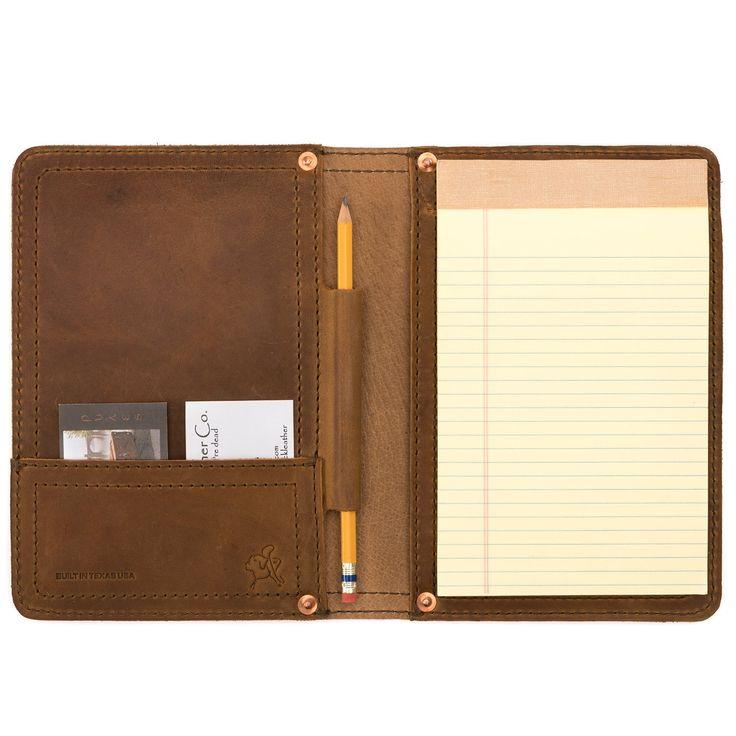 Amazon Com Saddleback Leather Small Chestnut Notepad