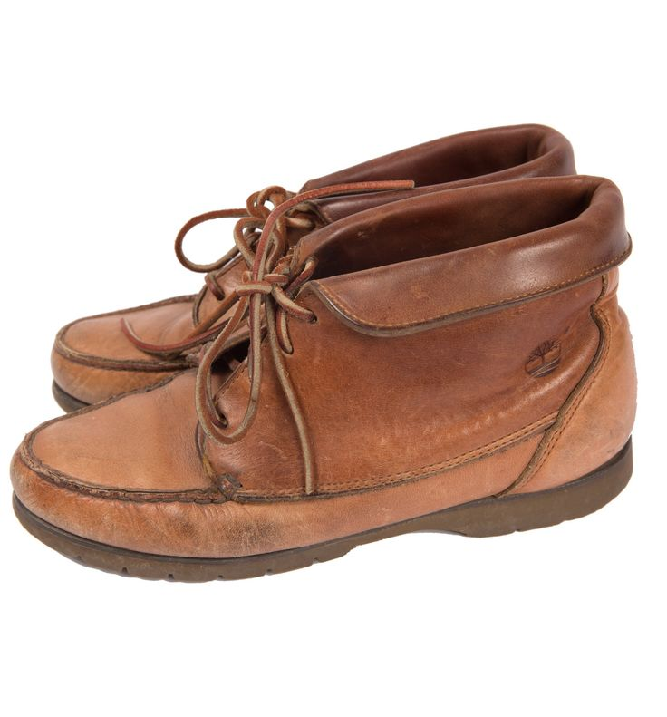 Vintage 70's Brown Timberland Boots, 8