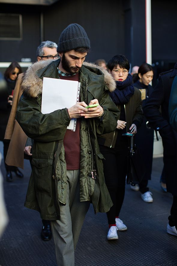 On The Street Color Pairing Milan The Sartorialist