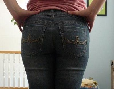 Tutorial on how to get rid of the saggy butt on your jeans and make your booty look amazing in any jeans!