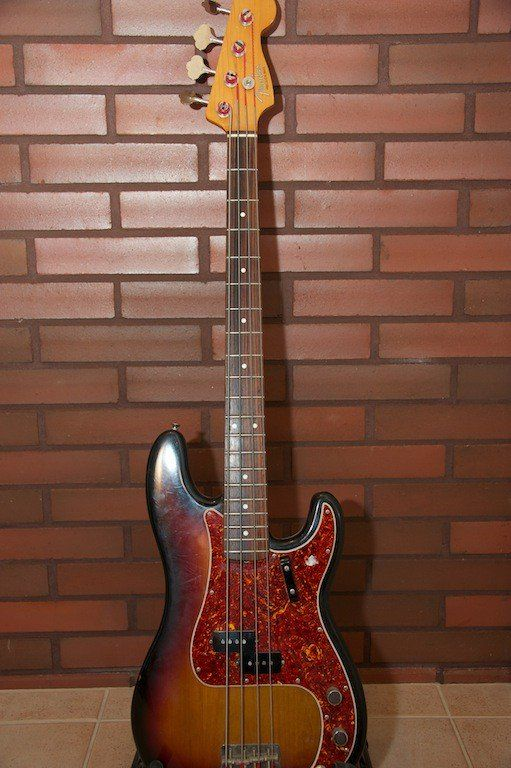 Fender Precision bass '62 vintage US reissue