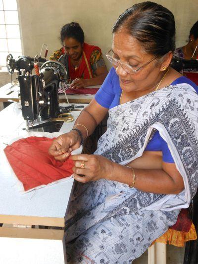 Project: Tailoring Training #India #handmade #InternationalDevelopment #Nonprofit #fairtrade #fashion