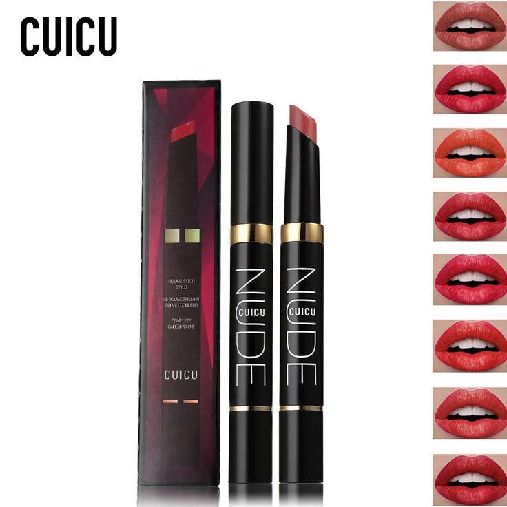 CUICU Brand Velvet Matte Lipstick Set Makeup Pen Pigmented Nude Batom Baby Lips Stick Tint Lip Kit Long Lasting Cosmetics Pencil #Affiliate