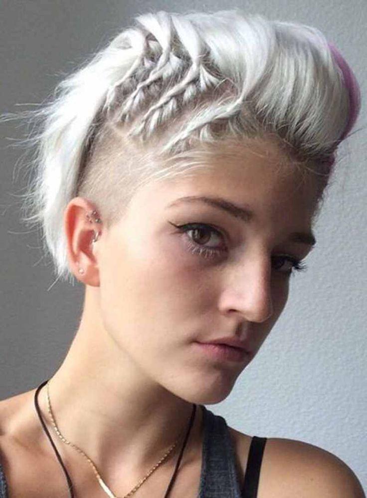 40 noble Punk-Frisuren, damit Frauen Ihre Fantasie schaukeln
