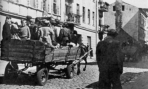 An overview of the lodz ghetto in europe during the world war two in poland