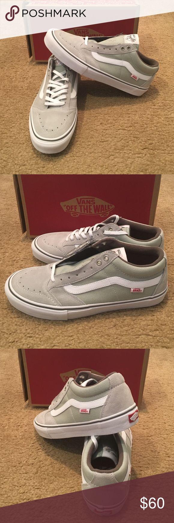 Vans TNT SG Sneakers New in box. Mirage Grey Vans Shoes Sneakers