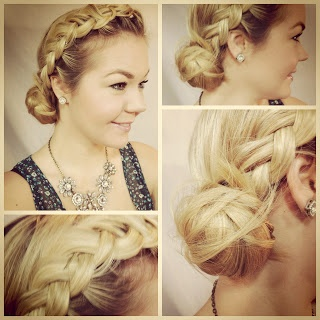 ponytail hair styles 15 best ideas about pancake braid on hair 3153