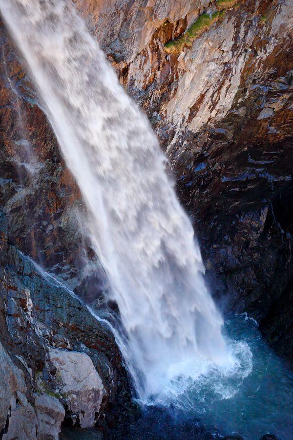 Bear Creek Falls, Ouray, Colorado ... ice climbing and hot ...