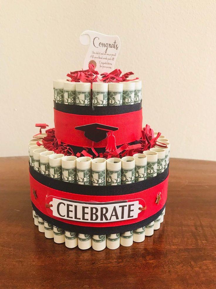 Graduation money cake graduation gift graduation 2020