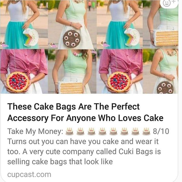 Omg  Cupcast just wrote the sweetest article about @CukiBags.
