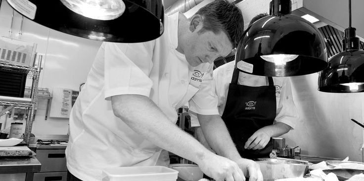 Recipes and biography from Adam Stokes, the award-winning head chef