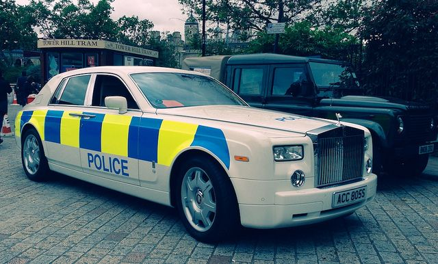 The Most Inexplicable Foreign Laws Rolls Royce Phantom Police Car