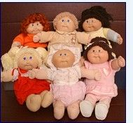 Cabbage Patch Dolls. Still havs mine in my parents attic.