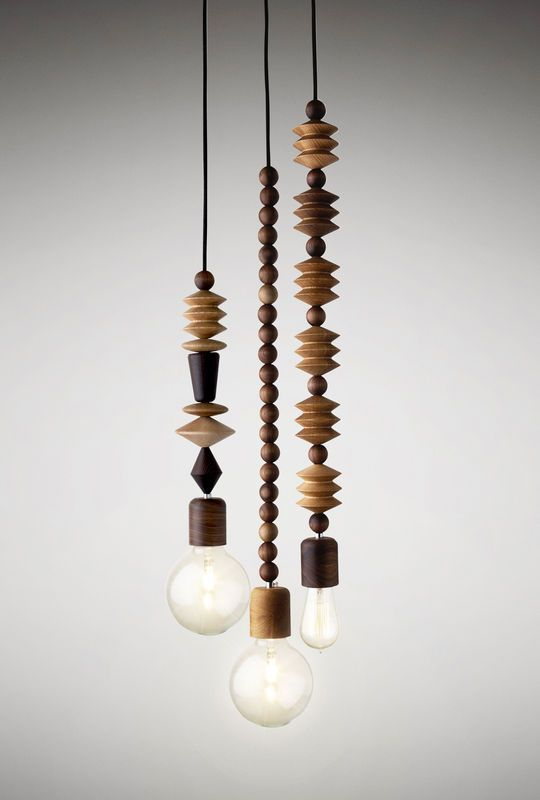 Australian designed and manufactured, these beautiful lights designed to be hung as a cluster to create a chandelier and provide a stunning focal point for a room. This set of three, includes the Aleenta, Abacus and Aztek pendants. Each pendant co...