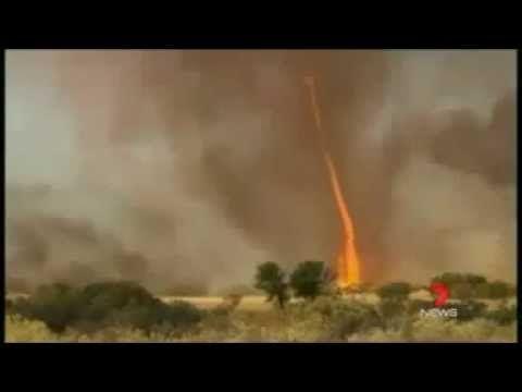 Spettacolare Tornado di fuoco in Australia - YouTube