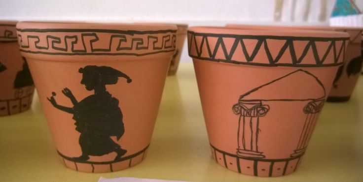 Kreikkalaisia ruukkuja (4.lk)