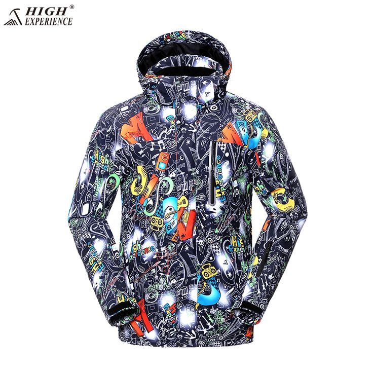 High Experience Ski Jacket Men Brand Snowboard Winter Mountain Skiing Clothes Mens Snow Jackets Sport Camp Coat Waterproof 6741 #Affiliate