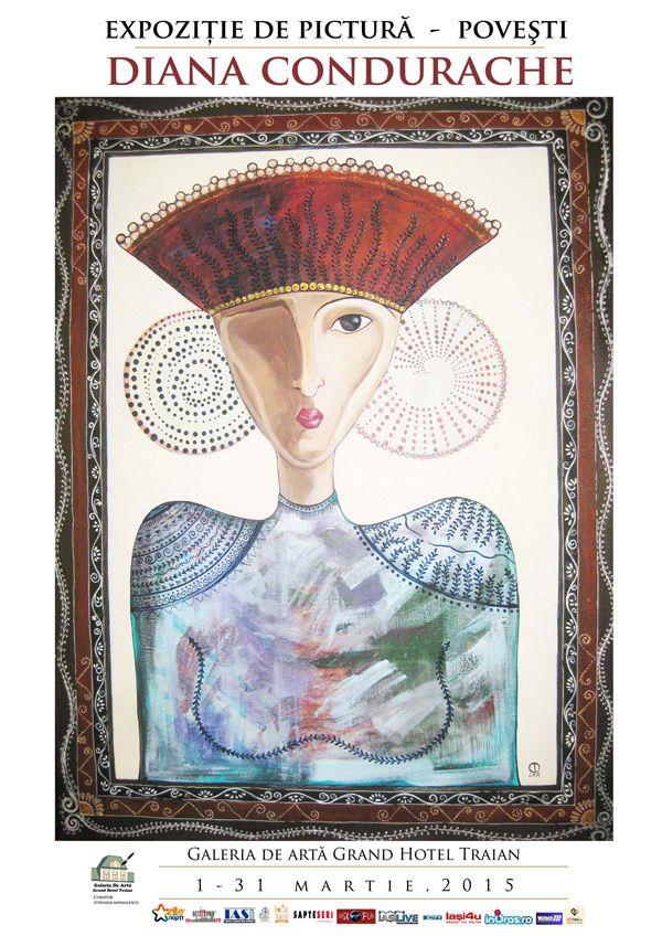 """Diana Condurache expune """"Povesti"""" la Galeria de Arta Grand"""