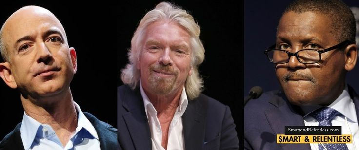 The self-made myth! – Guess how these 6 Billionaires acquired their seed funding?