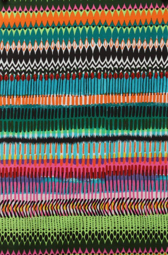 Alexander Henry Spring 2012 designs. From top: Amazona, Bahia, Aztlan, Matchstick, La Virgencita. HF.