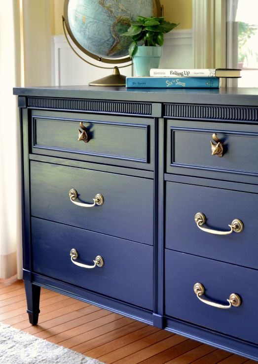 Used Kitchen Cabinets Chicago Flooring Lowes Best 25+ Navy Dresser Ideas On Pinterest | Drawer Pulls ...