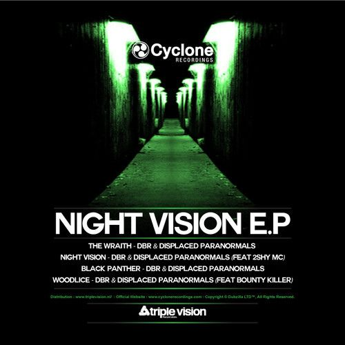 DBR UK & Displaced Paranormals - Black Panther - Cyclone Recordings - NIGHT VISION EP - OUT NOW