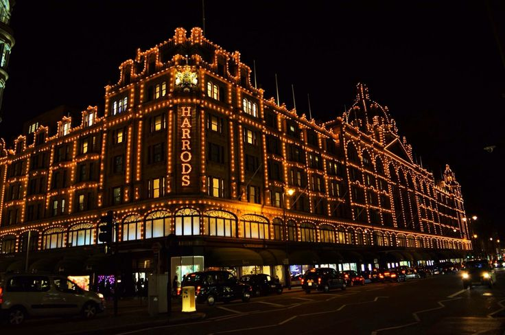 No need to describe the beauty of Harrods, the most famous store in the world