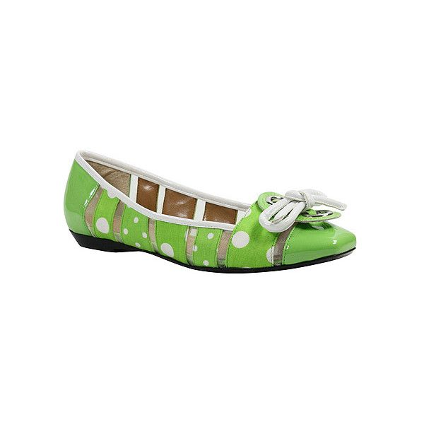 J.Reneé Edie  Flats ($100) ❤ liked on Polyvore featuring shoes, flats, casual shoes, women, ballet pumps, leather ballet flats, slip on shoes, leather ballerina flats and flat pumps
