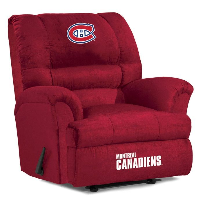 Use this Exclusive coupon code: PINFIVE to receive an additional 5% off the Montreal Canadiens Big Daddy Recliner at SportsFansPlus.com