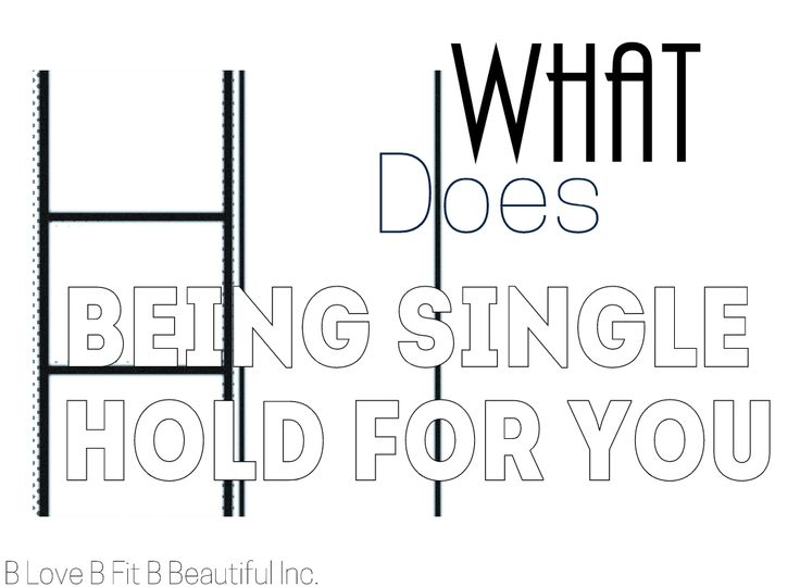 B Beautiful: What Does Being Single Hold For You?  http://www.blovebfitbbeautiful.com/2015/01/b-beautiful-what-does-being-single-hold.html