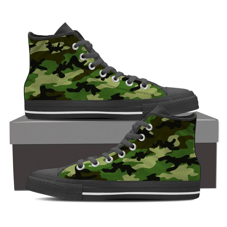Cool Camo Shoes - Women's