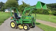JOHN DEERE 655 4x4 TRACTOR WITH LOADER  BELLY MOWER AND MANUALS finance tractors www.bncfin.com/apply