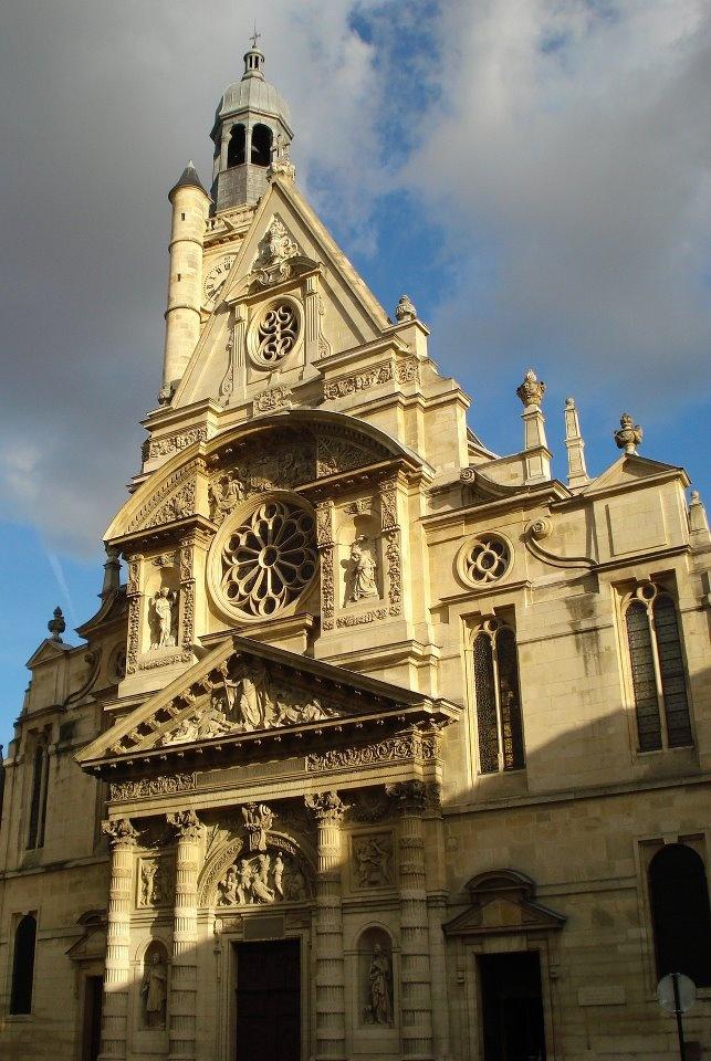 Saint Genevieve church in Paris, France (Photo Credit: Richard Morales)