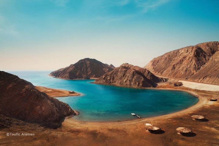 Egypt Sinai Taba Fjord Bay Photographed By Toufic