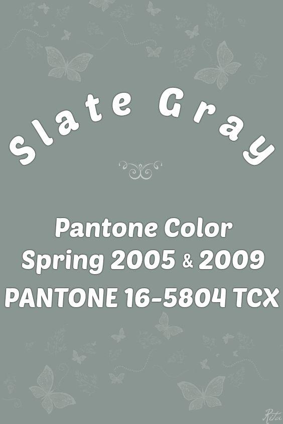 Pantone Slate Gray Moroccan Blue Green And Grey Color Whiteboard