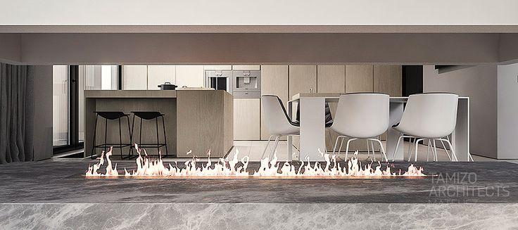 Projekt wnętrz domu jednorodzinnego q-house, Grudziądz.