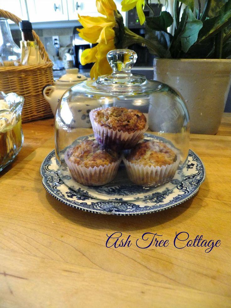 mixed berry lemon muffins