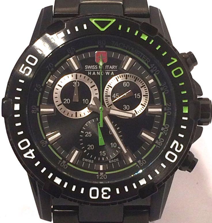 Swiss Military Hanowa Flagship Chronograph Watch.