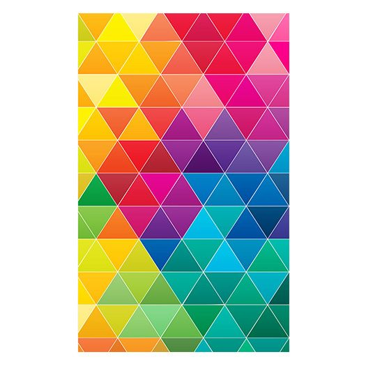 Colourful geometric patterns