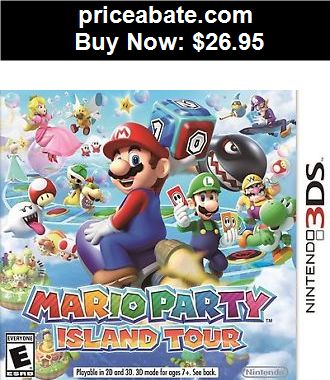 Video-Gaming: Mario Party Island Tour Nintendo 3DS  Brand New Sealed Fast Shipping 3 DS Game - BUY IT NOW ONLY $26.95